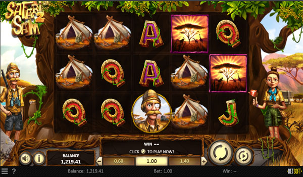 Main Gratis Slot Indonesia - Safari Sam 2 Betsoft