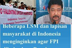 Hasil Polling Setara Insitute: 93 Persen Rakyat Indonesia Menolak FPI Dibubarkan