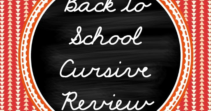 classroom freebies  back to school cursive handwriting
