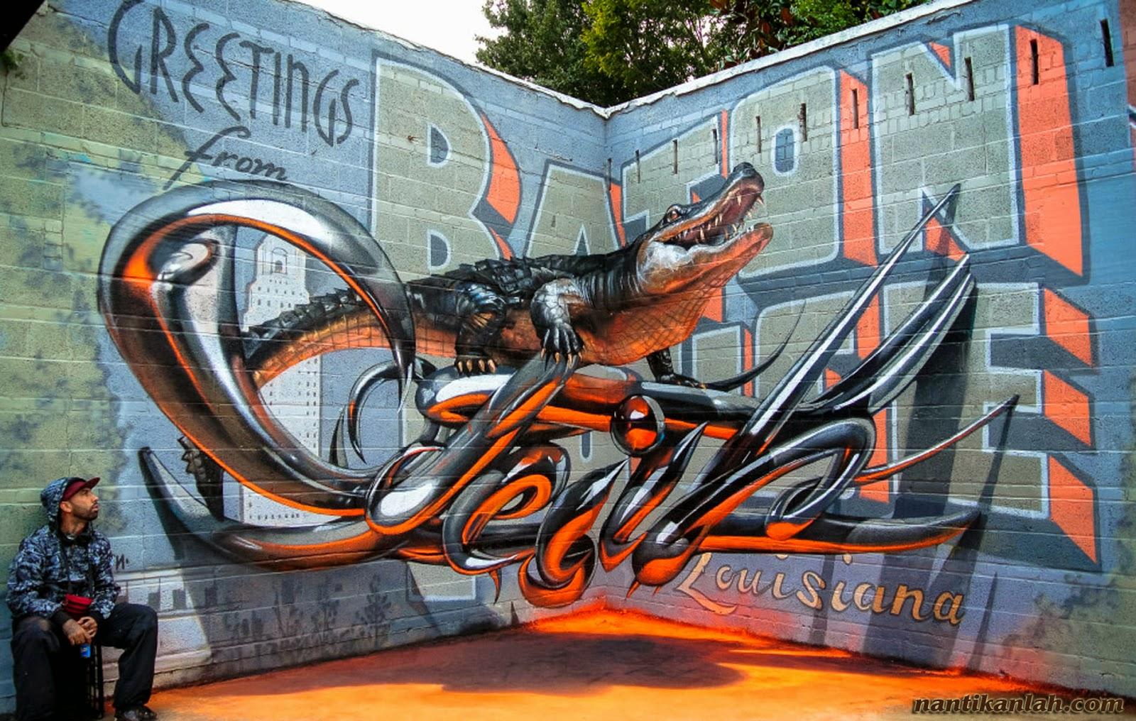 Kumpulan Gambar Grafiti dan Wallpaper Graffiti Keren