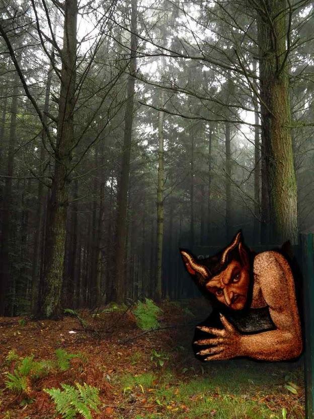 O diabo aprontou uma na floresta de Villers-Cotterêts