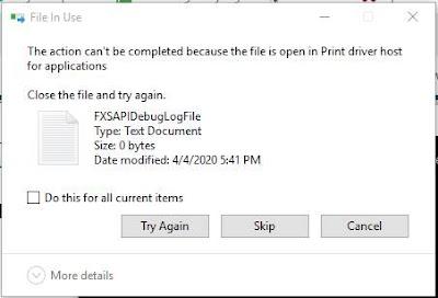 Cara menghapus file secara paksa di Windows 10