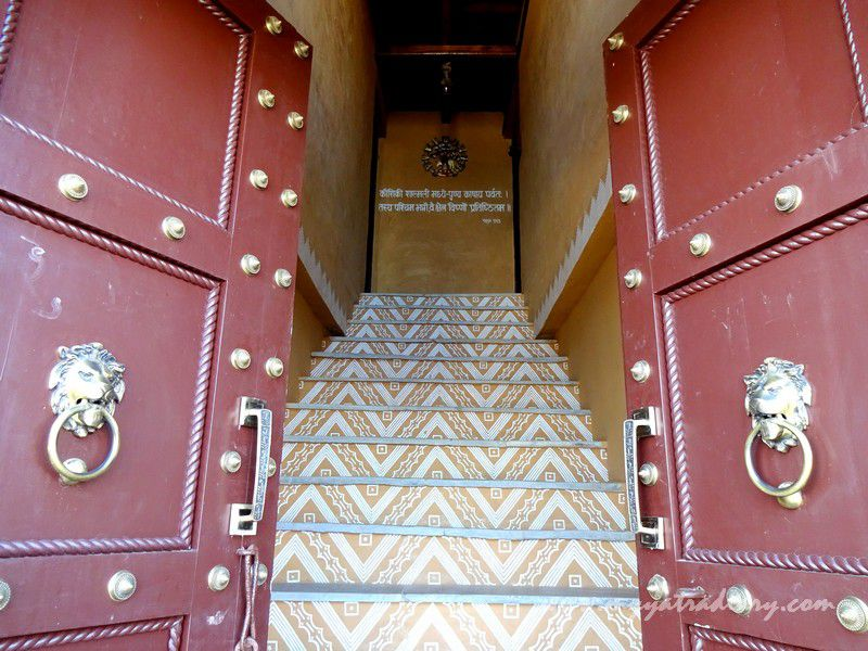 Beautiful entrance at The Himalayan Bungalow Boutique homestay Almora