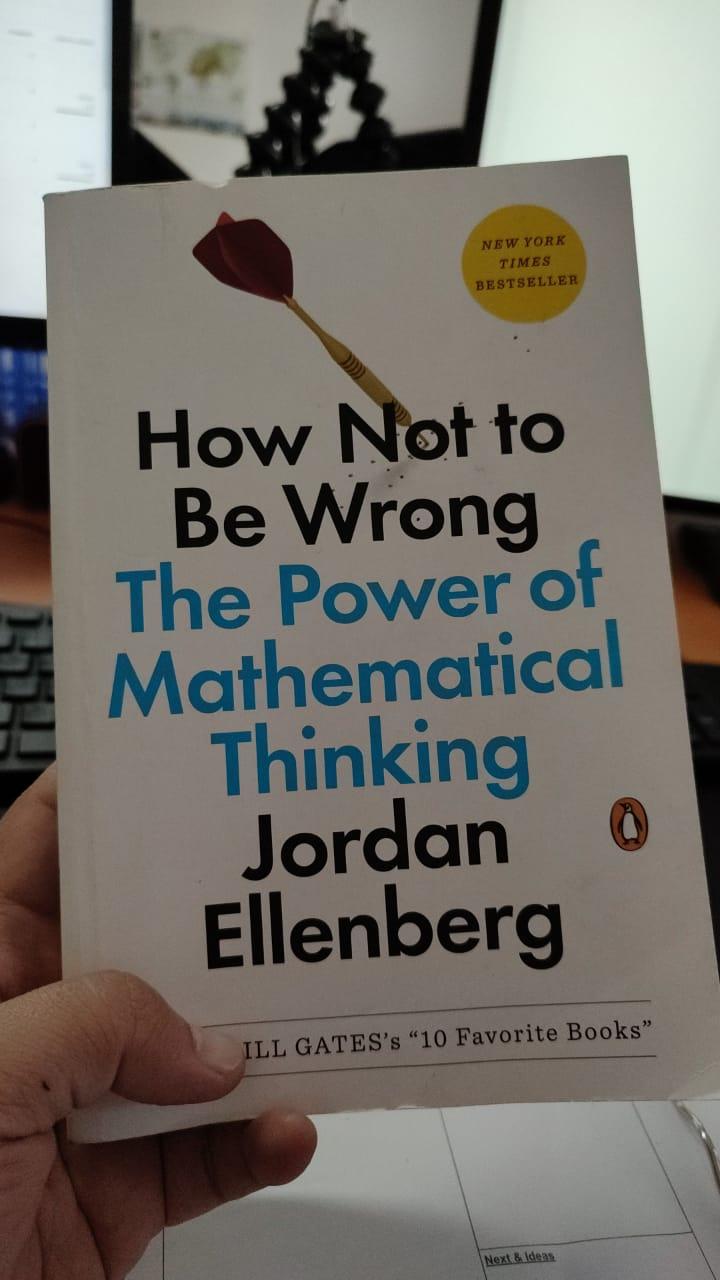 buku How Not to Be Wrong, The Power of Mathematical Thinking - Jordan Ellenberg