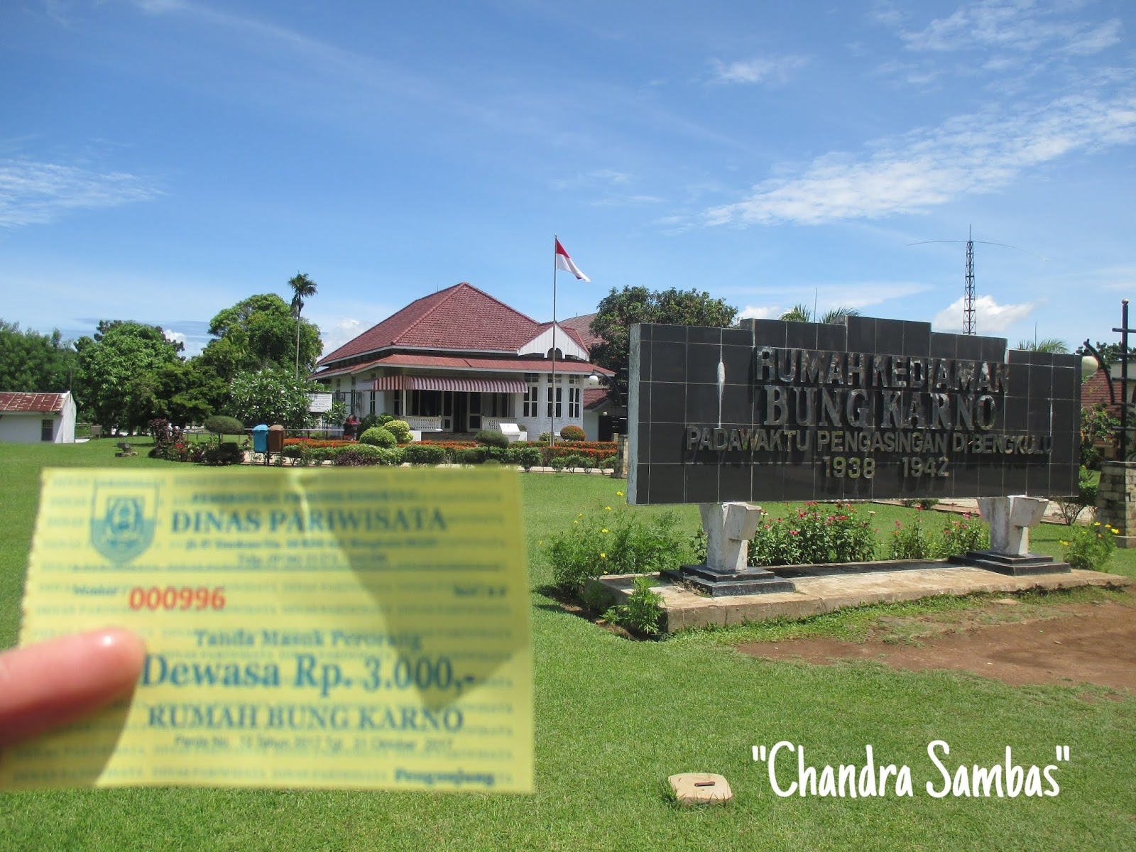 Backpacker Alam Dan Sejarah Wisata Sejarah Di Rumah Pengasingan Bung Karno Di Bengkulu