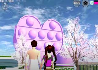 ID Rumah POP IT 3 Lantai DI Sakura School Simulator