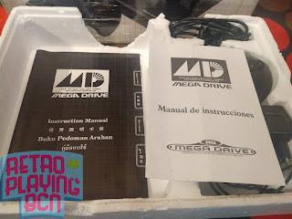 manuales de instrucciones megadrive pal asia
