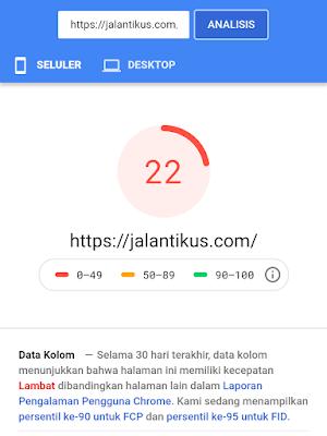 Pengila Kecepatan Website