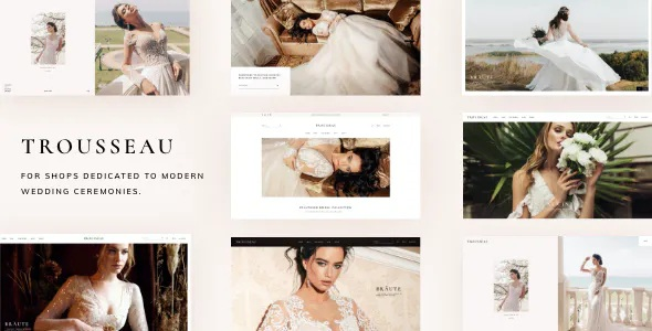 Best Bridal Shop WordPress Theme