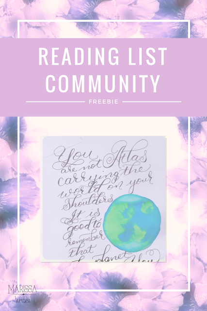 Community Freebie for Reading List