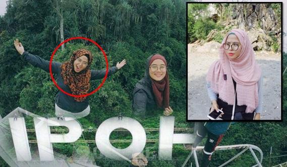 Biodata & Gambar Norfarihan Baharudin Remaja Panjat Mercu Tanda Ipoh
