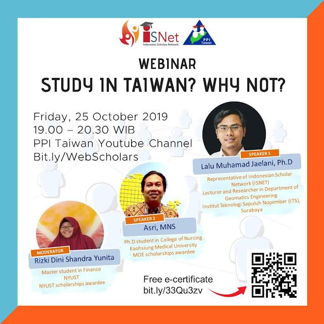 Sharing dan Diskusi Study In Taiwan Why Not?