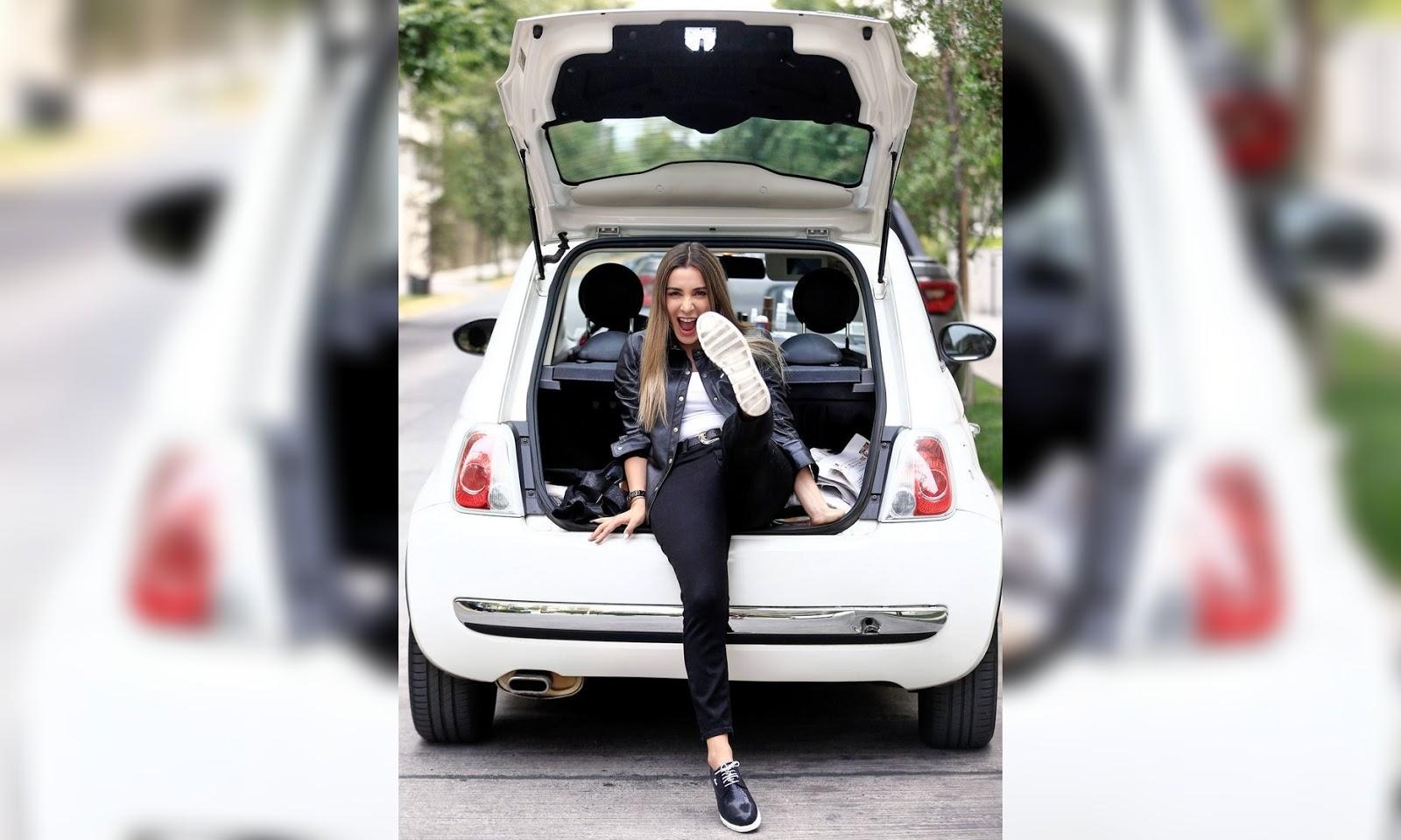 Daniela Urrizola prefiere un auto chico