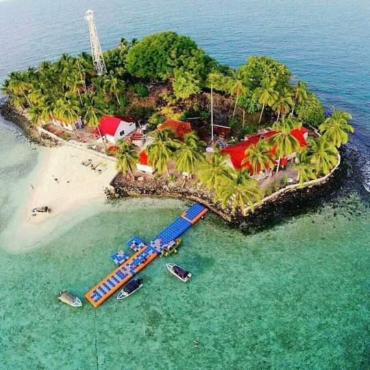 wisata alam bawah laut pulau samber gelap