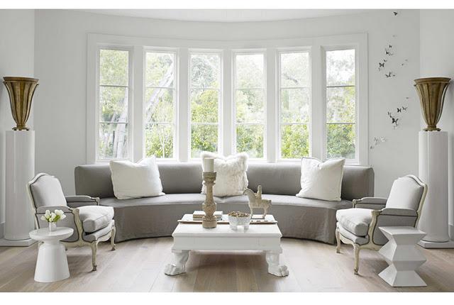 Living Room With Grey Sofa Ideas - interior decorating ...