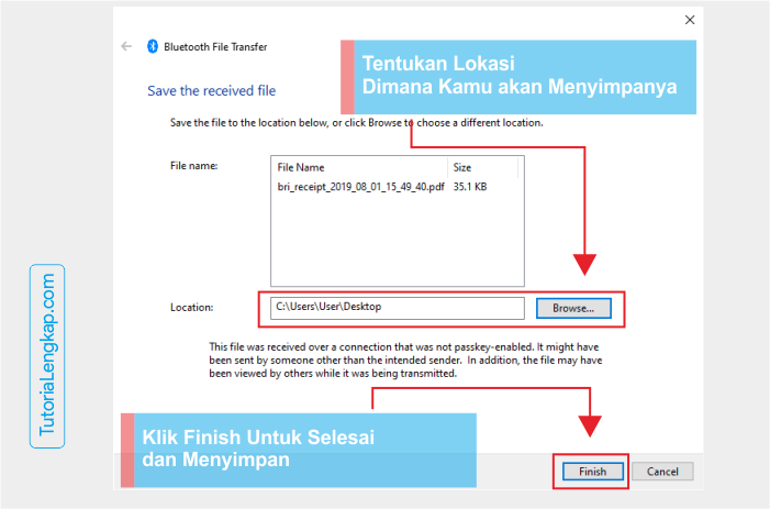 Tutorialengkap 6 Cara Mengirim File Dari HP ke Laptop dan Laptop Ke HP lewat Bluetooth