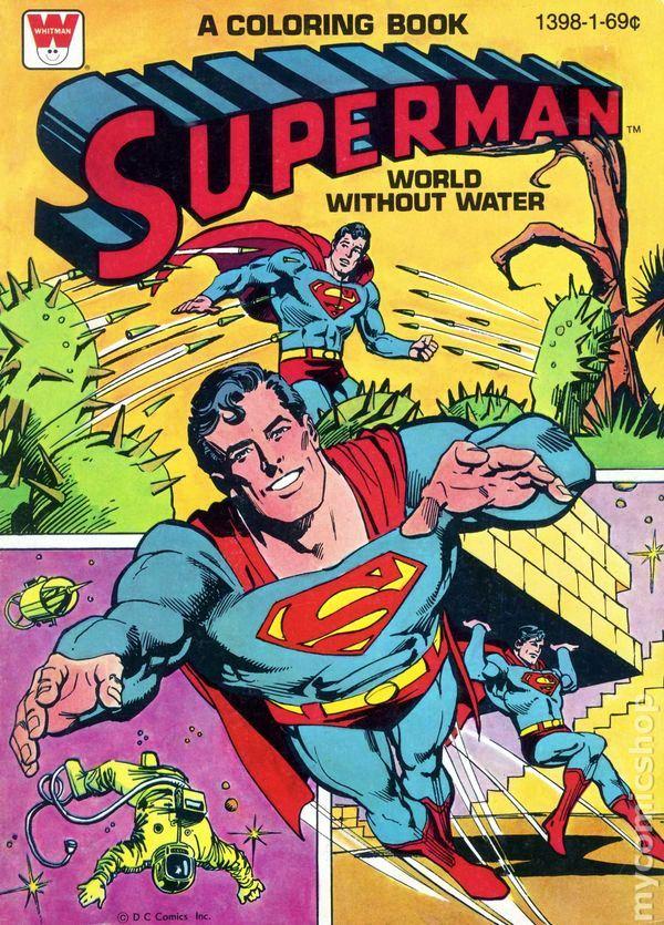 Superman Week Superman Coloring Books