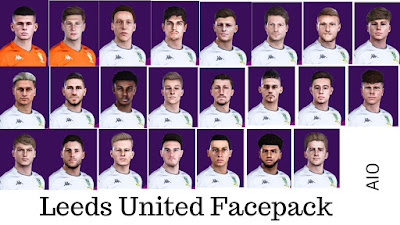 PES 2020 Leeds United Facepack AIO by Juanchi25