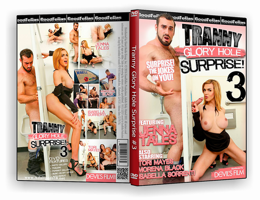 DVD – Tranny Glory Hole Surprise #03 xxx – ISO