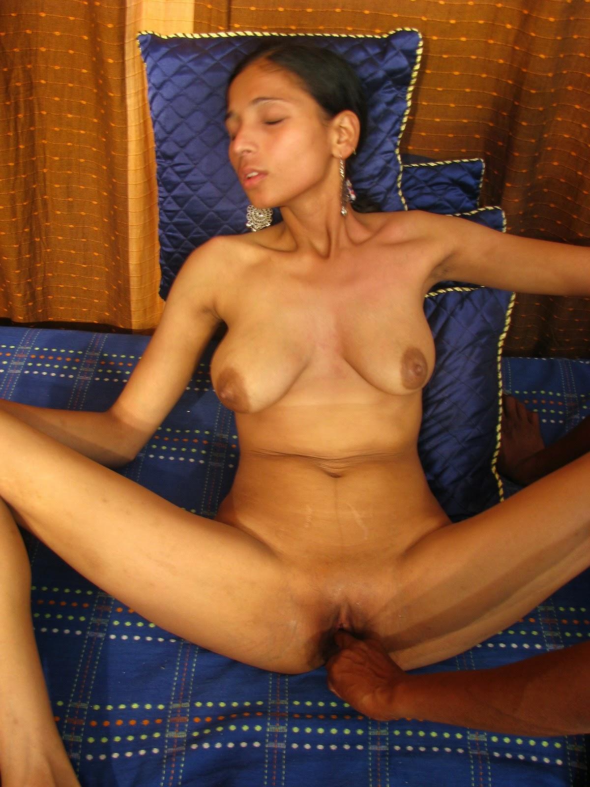 Femdom wife foot slave husband