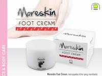 MORESKIN FOOT CREAM - Solusi Perawatan Kaki Pecah Pecah