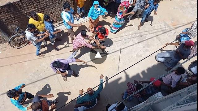 கல்முனையில் வாள்வெட்டு- இளைஞர் வைத்தியசாலையில் அனுமதி...!!