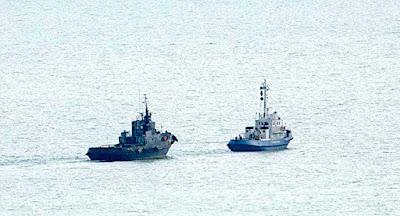 Росія готується передати Україні захоплені кораблі