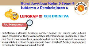 Kunci Jawaban Kelas 6 Tema 9 Subtema 2 Pembelajaran 6 www.simplenews.me