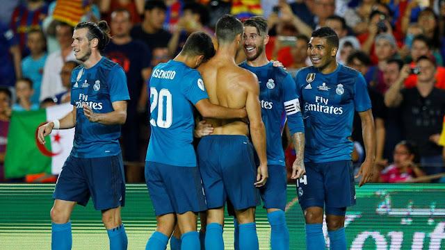 Ronaldo thẻ đỏ, Real Madrid vẫn hiên ngang rời Camp Nou 5