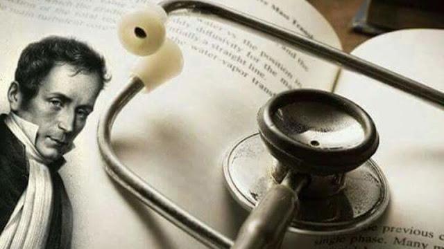 من هو الفرنسي الذي اخترع السماعة الطبية؟