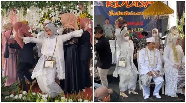 Viral Aksi Wanita Joget Heboh di Acara Pernikahan, Banjir Komentar Netizen