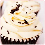 Cupcakes chocolate blanco