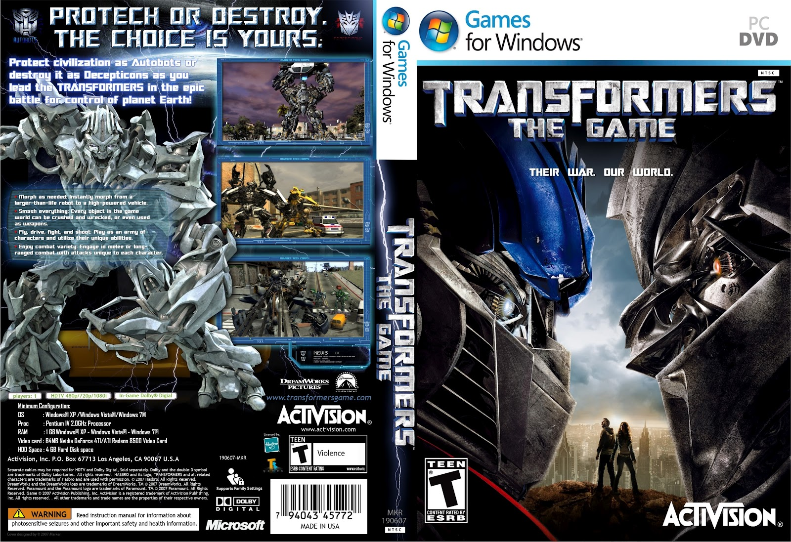 Transformers 3 Dark Of The Moon Pc Game Torrent