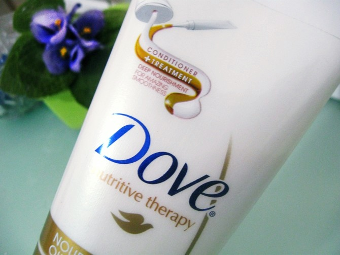 Condicionador Dove Nourishing Oil Care