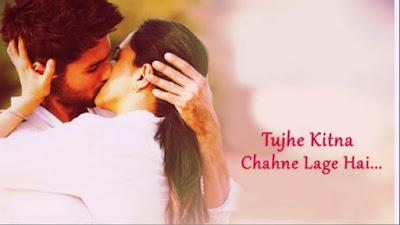 Arijit Singh - Tujhe Kitna Chahne Lage Lyrics | Kabir Singh | Shahid Kapoor,Kiara Advani