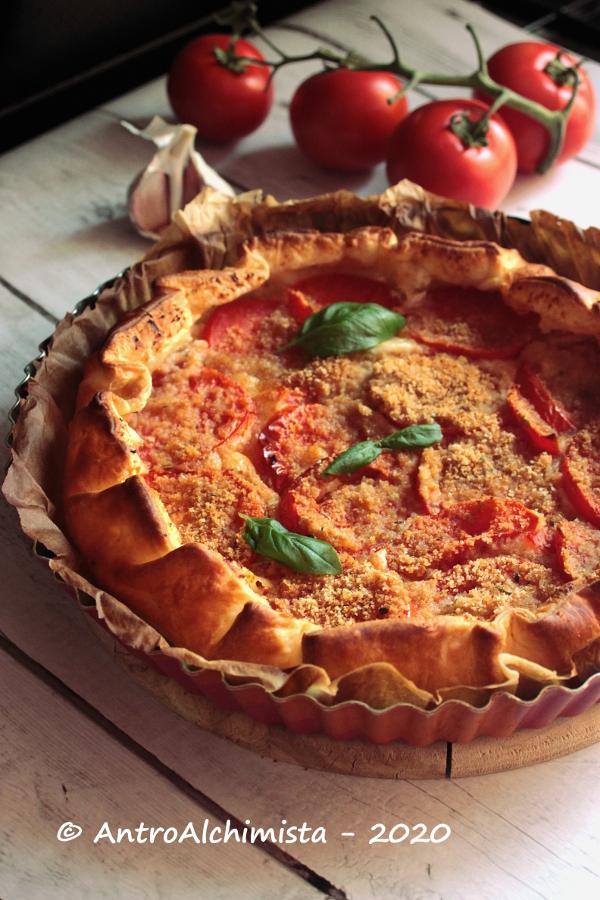 Sfoglia Rustica con Pomodori Gratinati e Fiordilatte