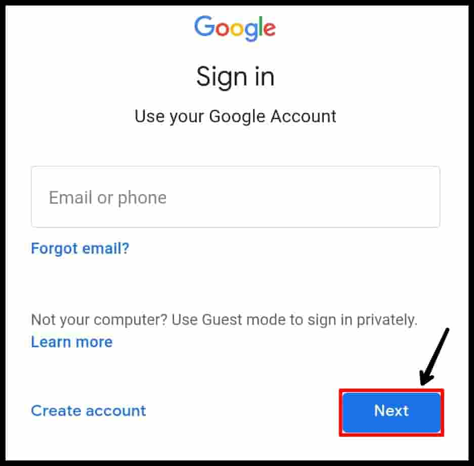 Email Id Login Kaise Kare