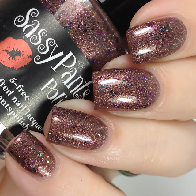Sassy Pants Polish-Warm Cocoa