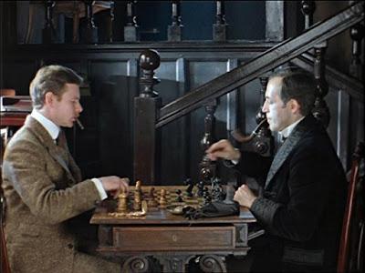 """""""Шерлок Холмс и доктор Ватсон: Кровавая надпись"""" (1979 г.)"""