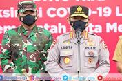 Kapolri dan Panglima TNI Harap Vaksinasi Drive Thru di Medan Jadi Role Model Wilayah Lain