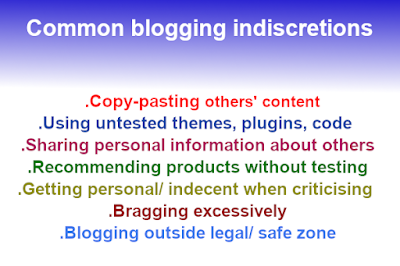 blogging: success without silly mistakes