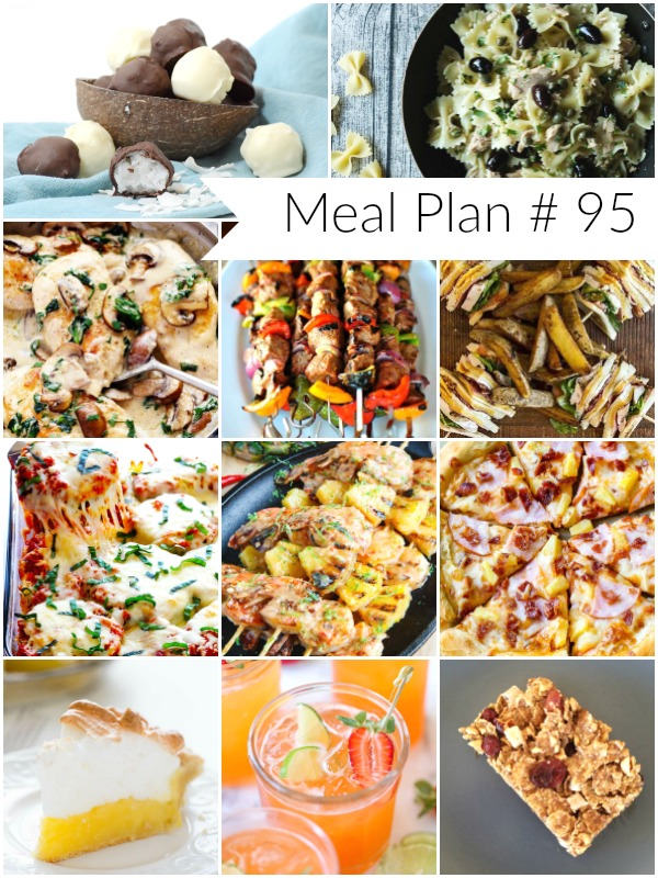 Weekly Meal Plan #95: Delicious recipes to help you plan out your week! - Ioanna's Notebook