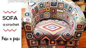 Cómo tapizar sofá a crochet