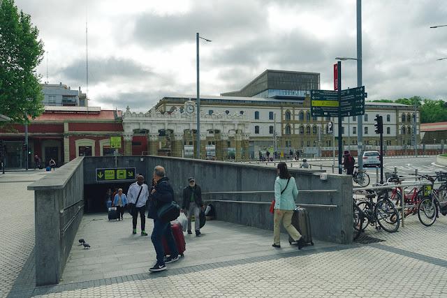 サン・セバスティアン・バスターミナル(Estacion de autbuses de San Sebastian)