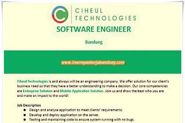 Lowongan Kerja Software Engineer Ciheul Technologies