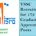 VSSC Recruitment for 173 Graduate Apprentices Posts.