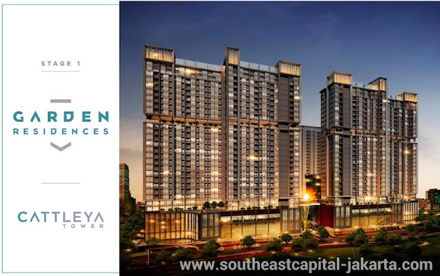 Southeast Capital Jakarta Apartment Garden Residences - Cattleya Tower