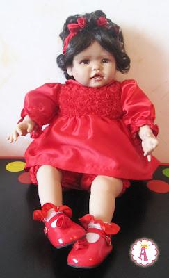 Кукла виниловая Scarlette фирмы Paradies Galleries