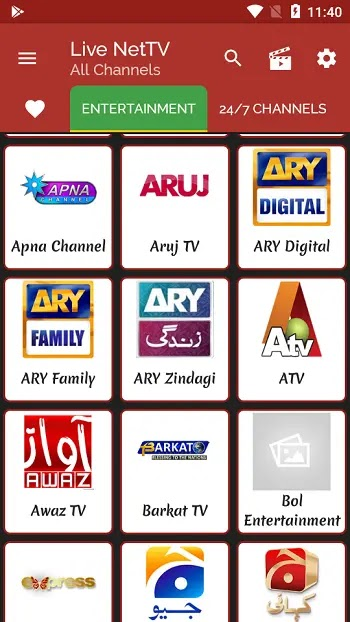 Live net tv features