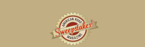 American Road Magazine wants you to enter once for the shot at being one of two lucky winners who score two awesome road trip getaways!